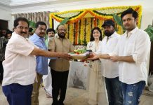 Bheeshma movie opening photos, Bheeshma, Bheeshma movie, Nithiin, Nithin, Rashmika mandanna, Bheeshma movie launch photos