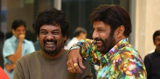 Puri preparing a packed script for Balayya