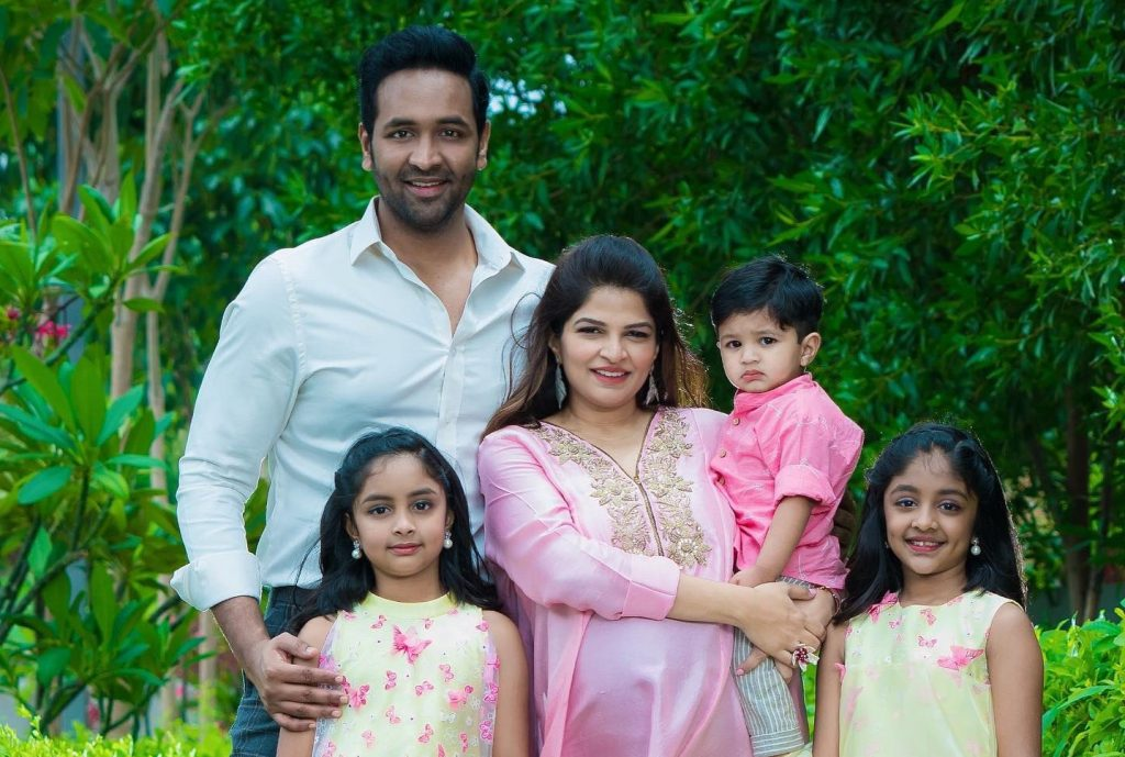 Manchu Vishnu blessed with a baby girl