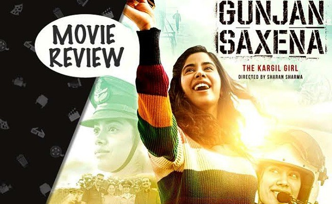 Gunjan Saxena Movie Review Rating Latest Movie News Manacinema Movie News Tollywood News