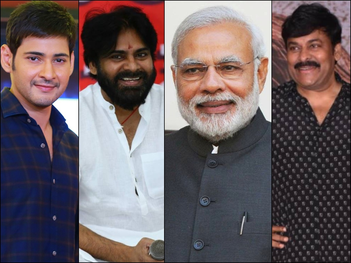 Tollywood Stars Pour in Birthday Wishes to PM Narendra Modi