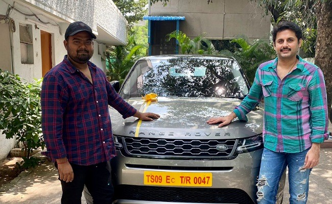 Nithiin gifts a swanky Range Rover for his director