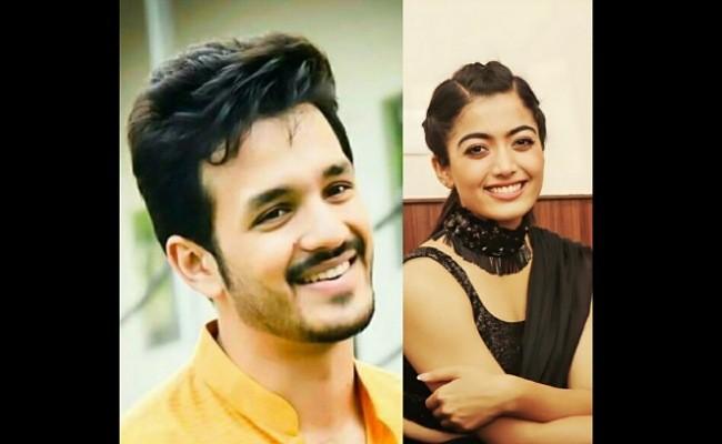Rashmika Mandanna to romance Akhil?