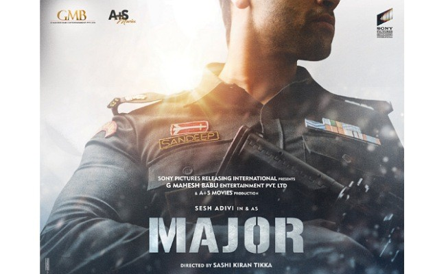 Adivi Sesh is back to the sets of Major