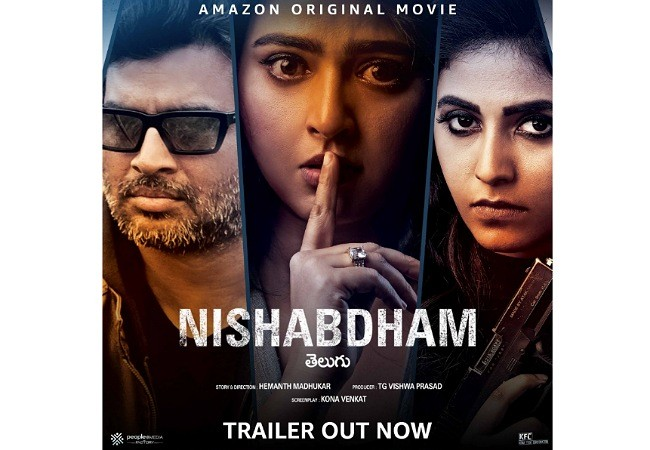 Anushka's Nishabdham Trailer: Thrilling Action Ride
