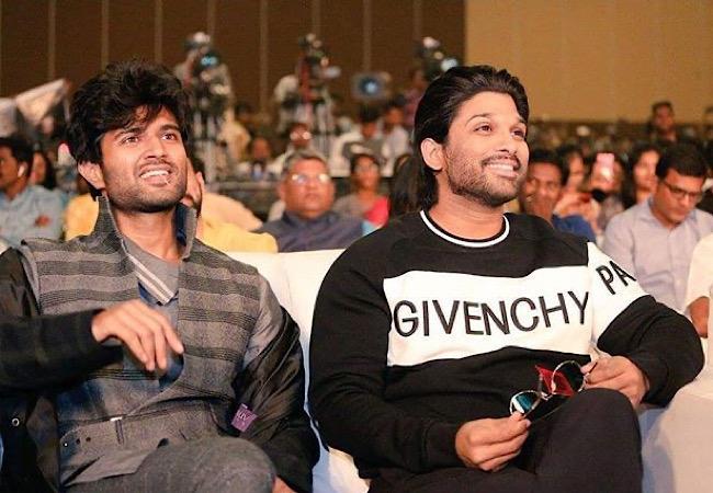 Allu Arjun behind Vijay Devarakonda's film