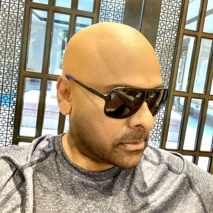 Pic Talk: Megastar Chiranjeevi surprises as an Urban Monk