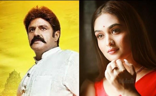 Malayalam beauty locked for Balakrishna