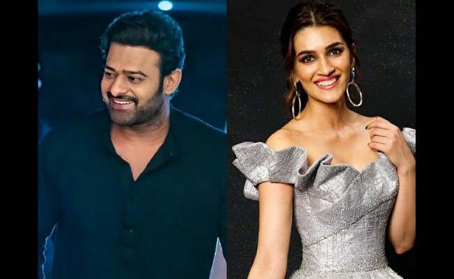 Buzz: Kriti Sanon to romance Prabhas?
