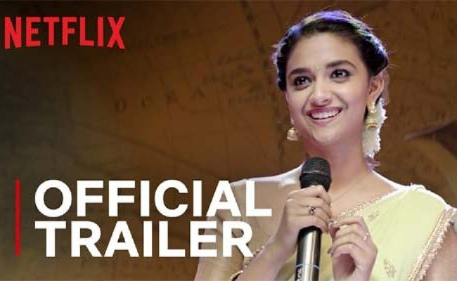 Miss India Trailer: Keerthy Suresh's show all over