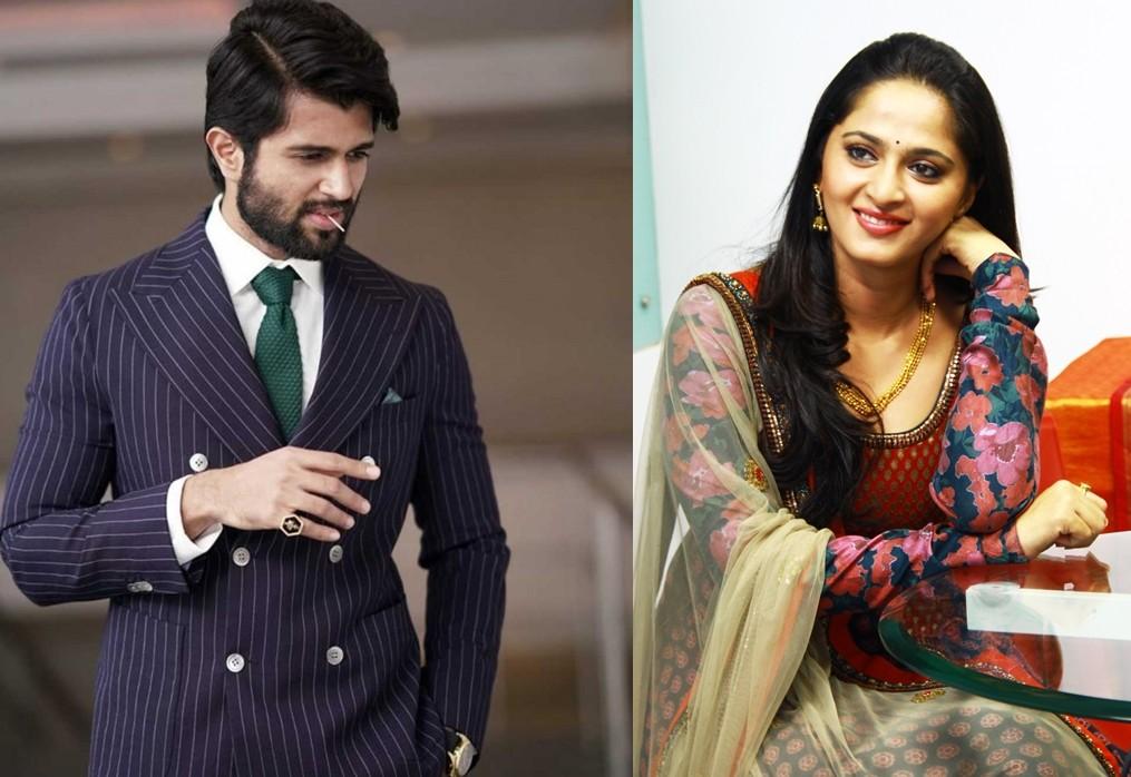 Vijay Deverakonda and Anushka Shetty
