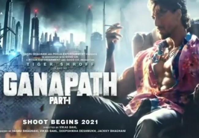Tiger Shroff's Ganapath First Look