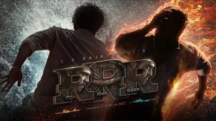 RRR team completes a major action sequence