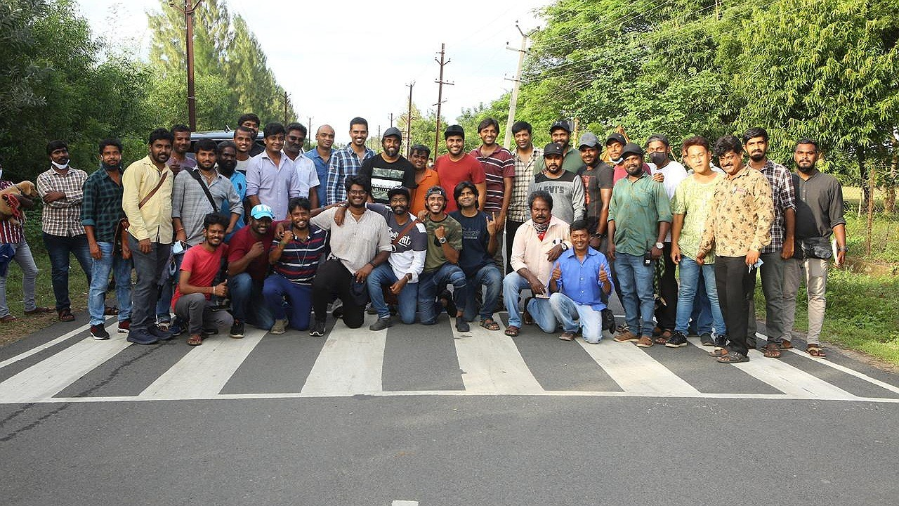 It's a wrap for Sharwanand30