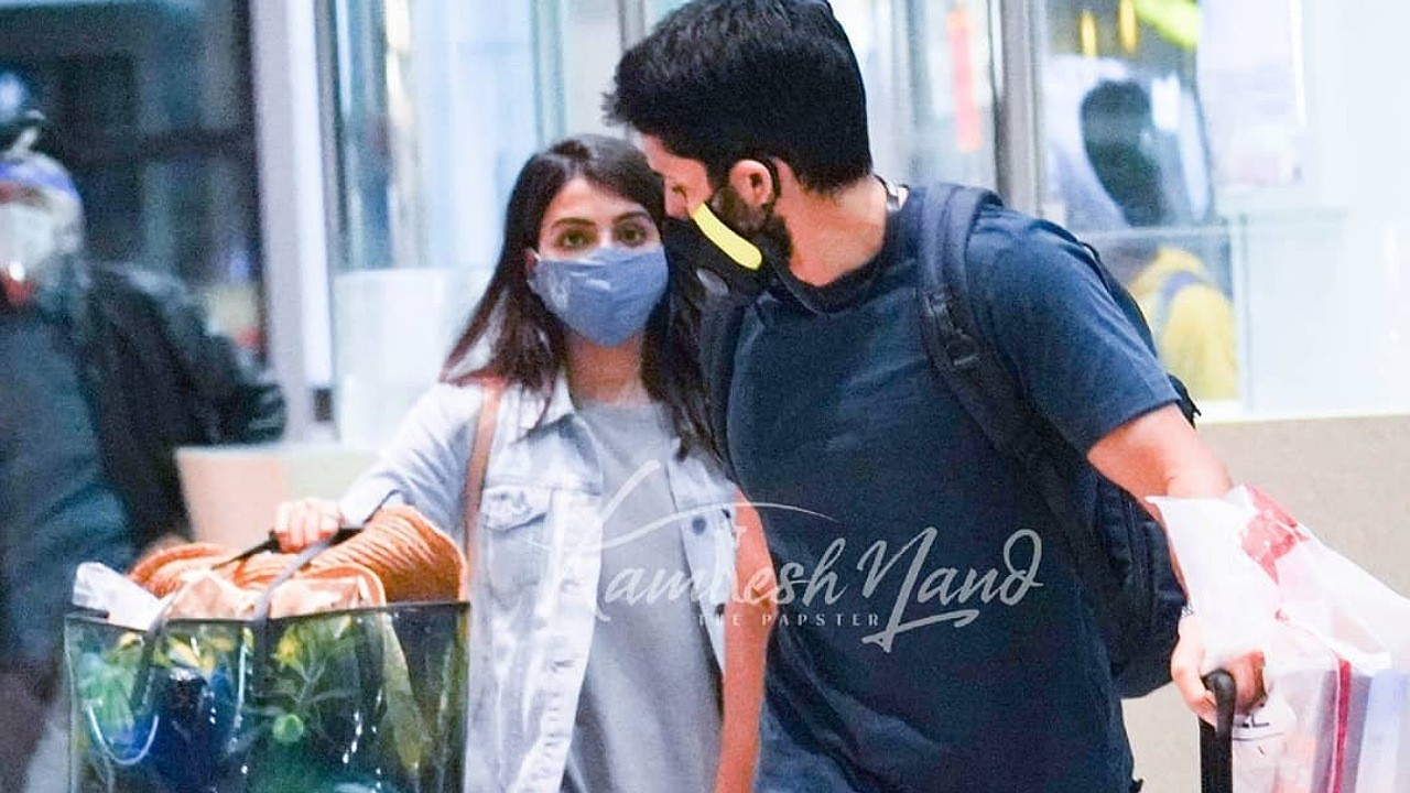Chaitu and Samantha back from their Holiday