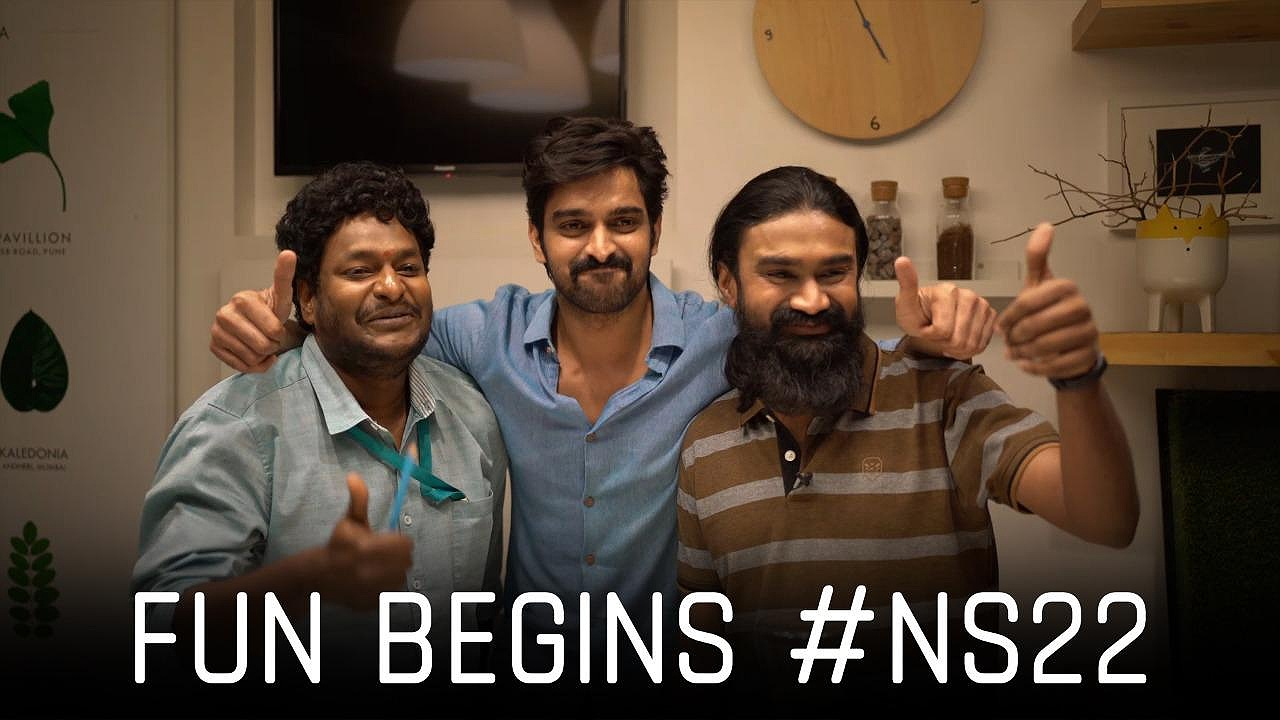 Naga Shaurya starts the shoot of his next rom-com