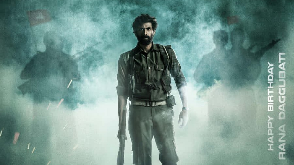 First Look: Rana Daggubati from Viraata Parvam