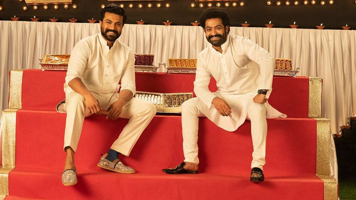 NTR and Ram Charan gearing up for action