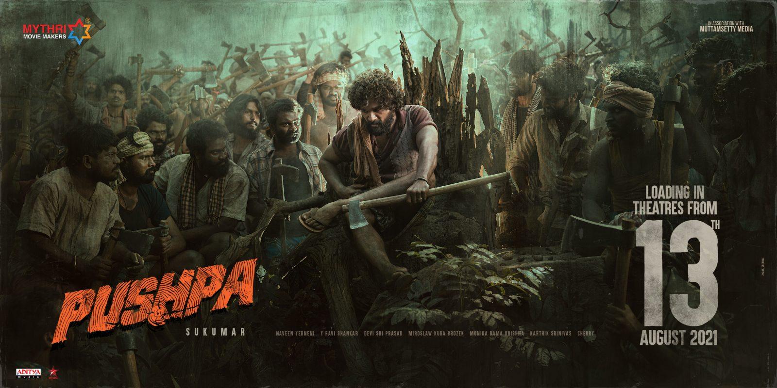 Allu Arjun's Pushpa release date
