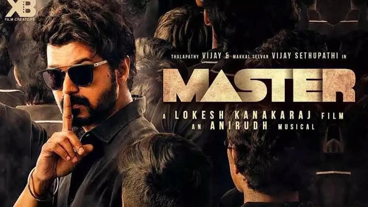 Vijay's Master Digital streaming