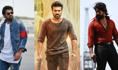 Prabhas RamCharan and Yash