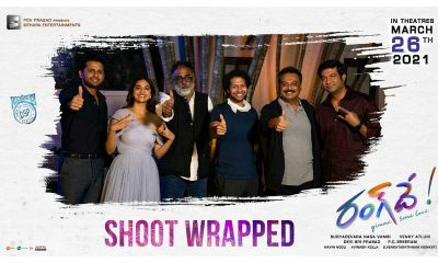 Nithiin RangDe shoot wrapped
