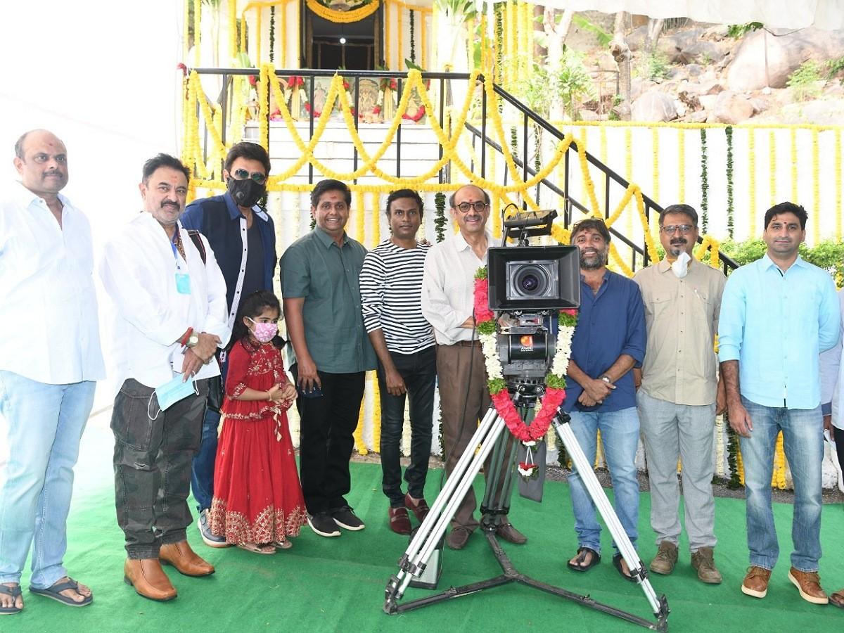 Venkatesh's Drushyam 2 Launched