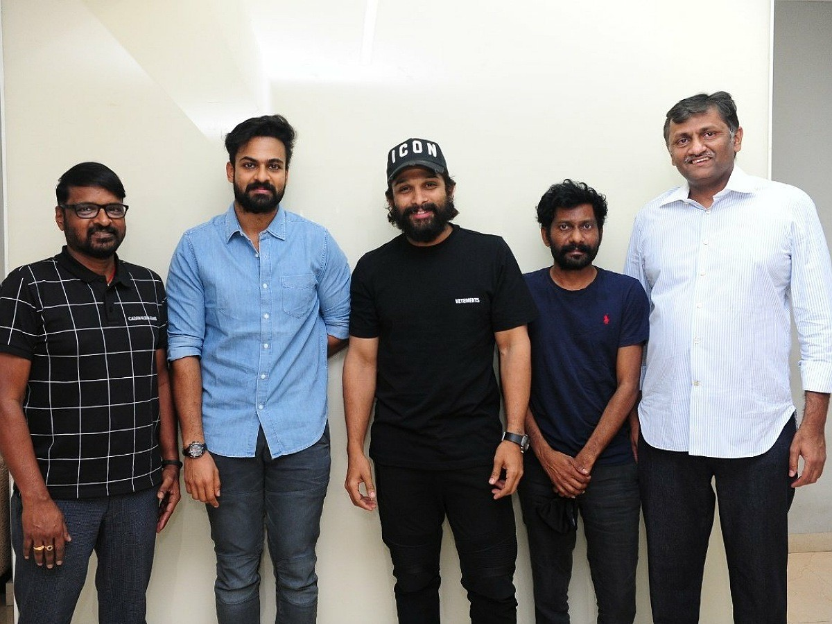 AlluArjun lauds Uppena Team
