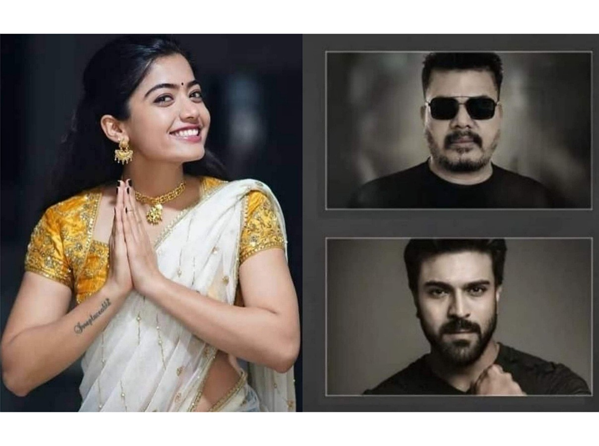 Rashmika next With RamCharan