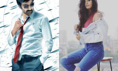 Ravi Teja and Divyansha