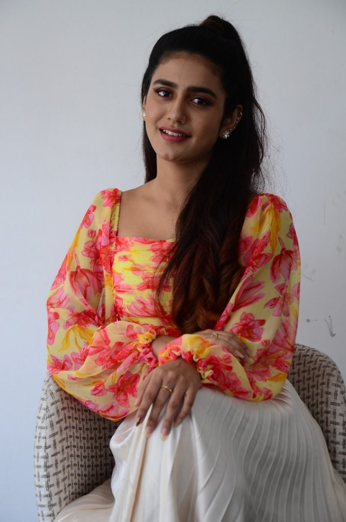 Priya Prakash Warrier 22
