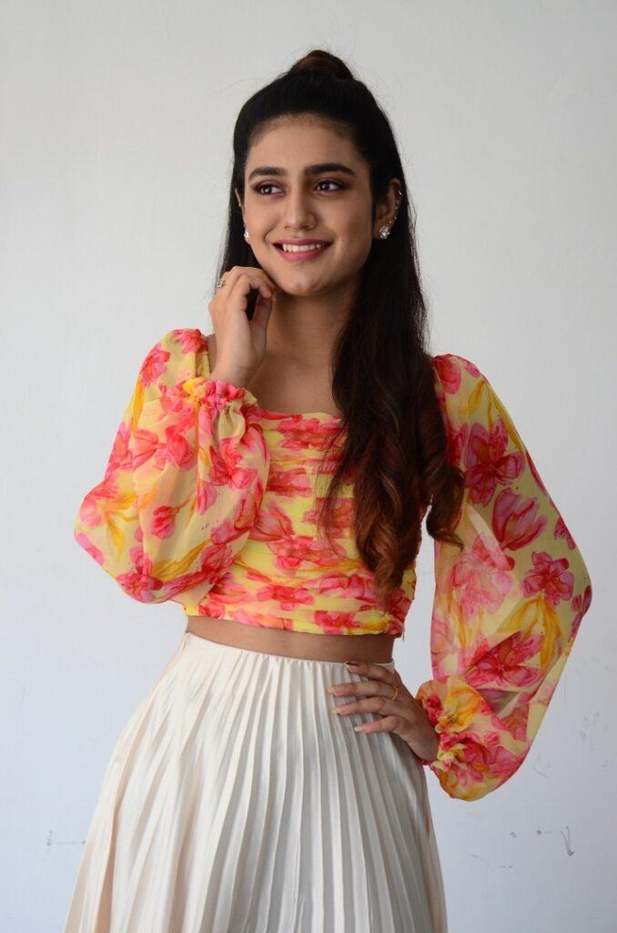 Priya Prakash Warrier 86
