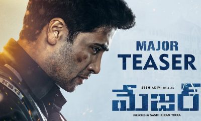Adivi Sesh's Major Teaser