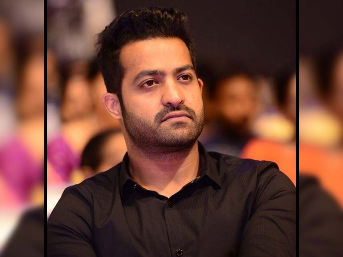NTR and his team Puzzled