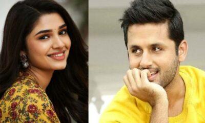 Nithiin and Krithi shetty