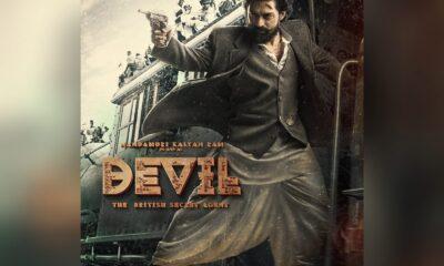 Kalyan Ram Devil First Look Poster