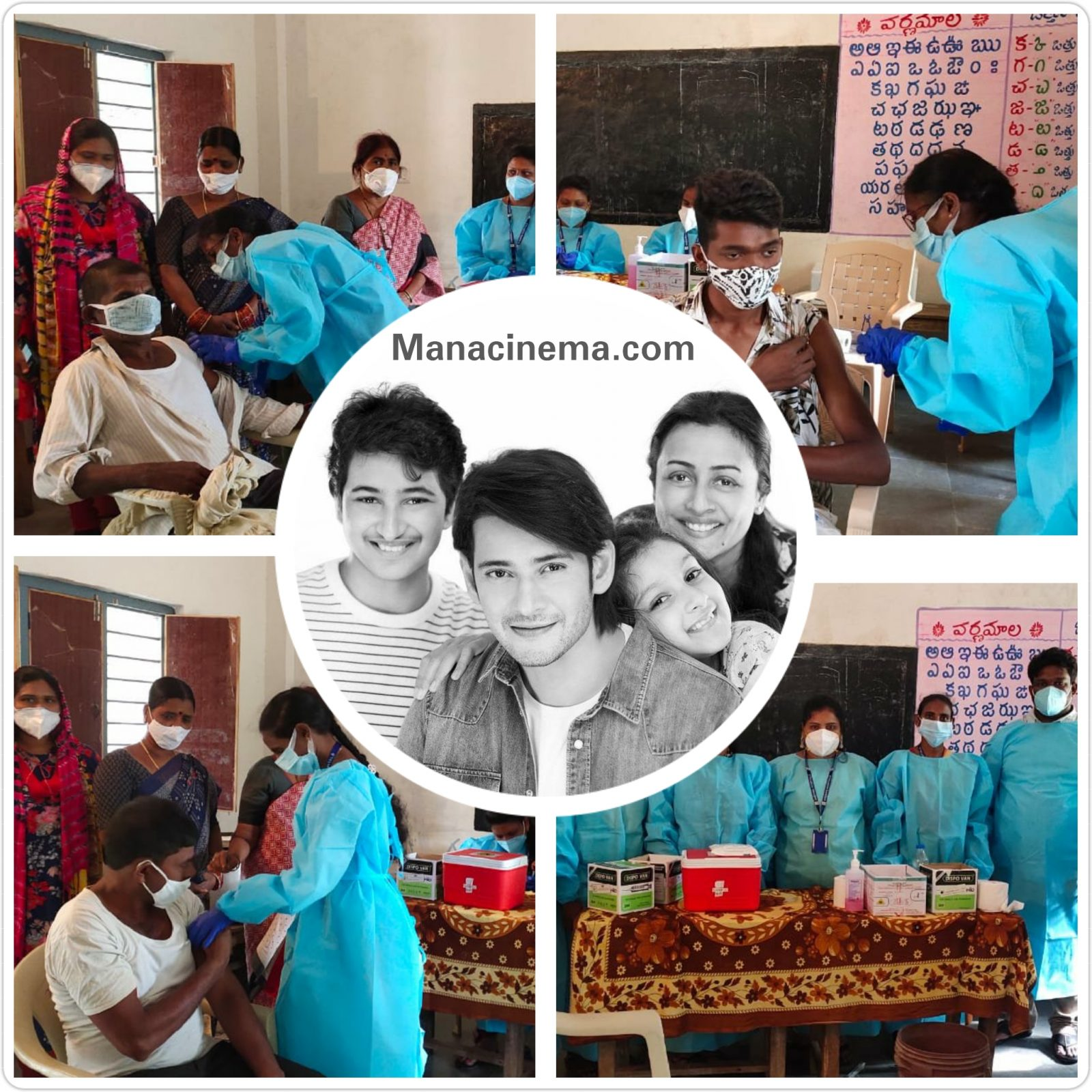 Siddapur Gets Vaccinated