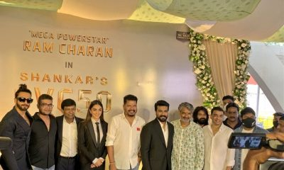 Ram Charan and Shankar Film